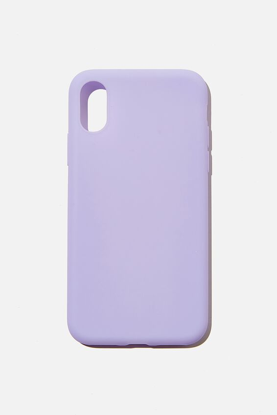 Recycled Phone Case iPhone X, Xs, PALE LILAC