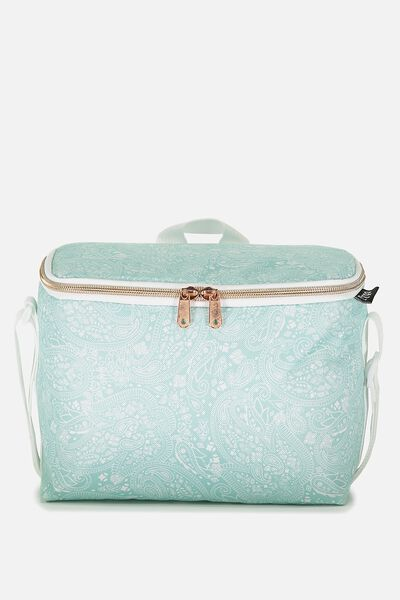 Cooler Lunch Bag, BLUE LACE