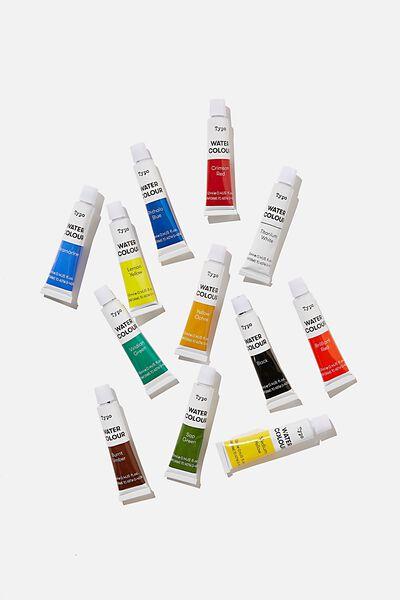 Watercolour Paint Set, BRIGHTS