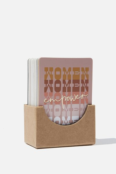 Affirmation Cards, FEMALE EMPOWERMENT