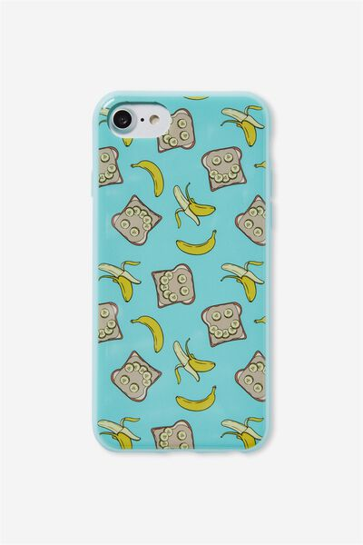 Printed Phone Cover Universal 6,7,8, PEANUT BUTTER