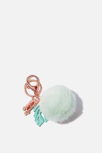 Bag Charm, SPREAD KINDNESS ICICLE POM POM