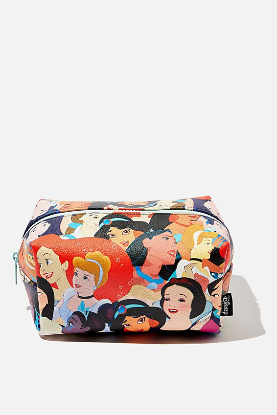 Disney Made Up Cosmetic Bag, LCN DIS CL PRINCESSES
