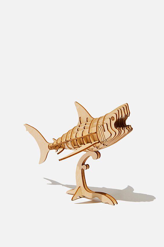 3D Puzzle, SHARK