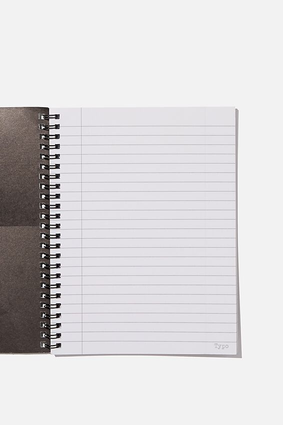 A5 Spinout Notebook Recycled, FEMALE FLOWER