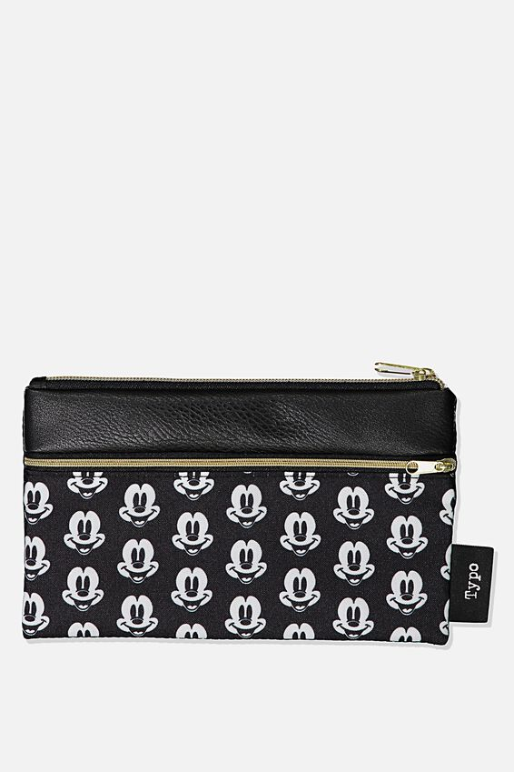 Disney Archer Pencil Case, LCN DIS MK MICKEY HEAD YARDAGE