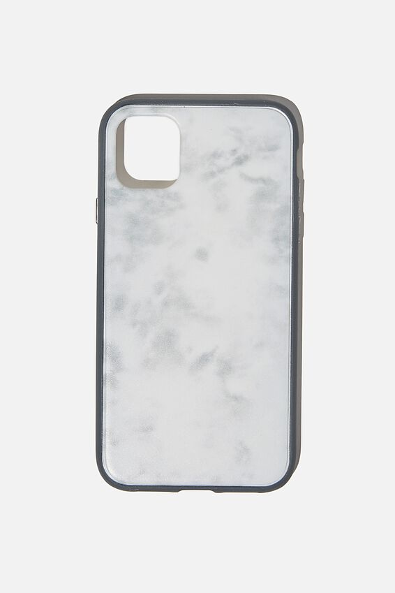Protective Phone Case iPhone 11, SPACEY TIE DYE COOL GREY