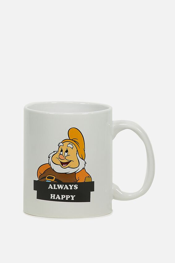 Anytime Mug, LCN SNOW WHITE DWARF HAPPY