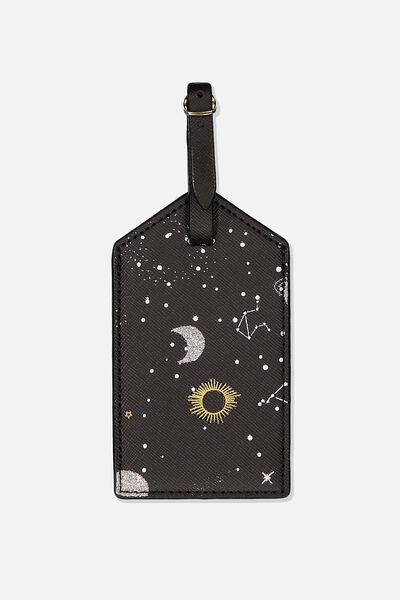 Luggage Tag, CONSTELLATION PRINT