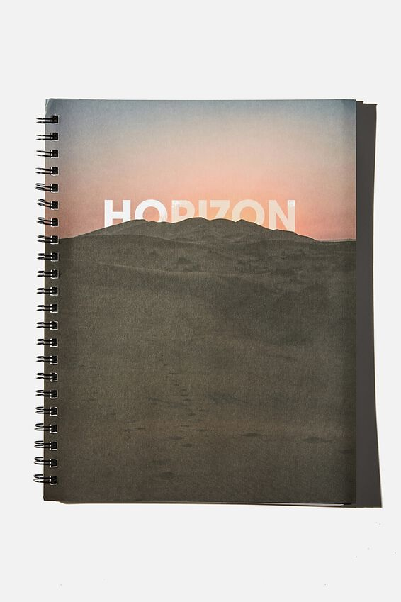 A4 Campus Notebook Recycled, HORIZON