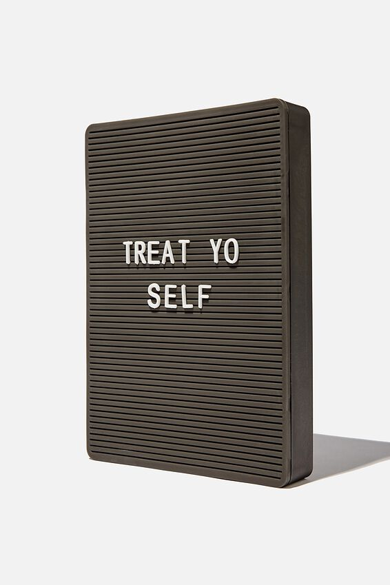 Peg Board Light Box, SOLID BLACK