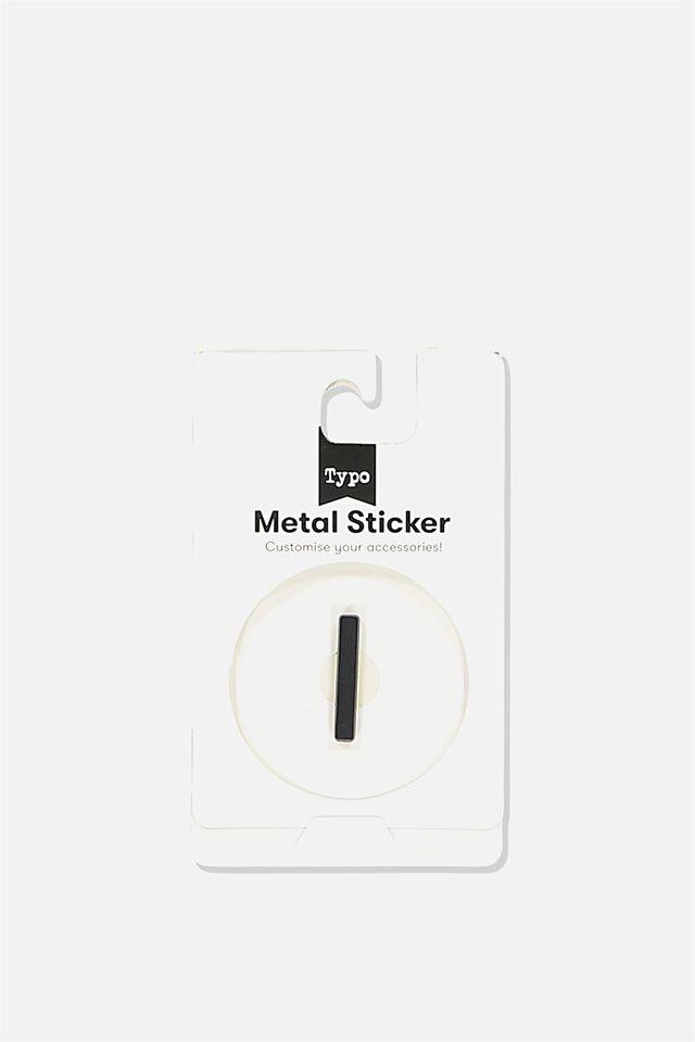 Metal Stickers, BLACK I