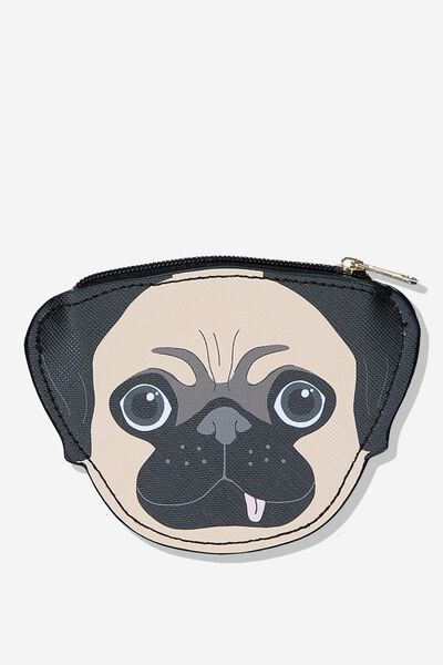 Novelty Coin Purse, PUG