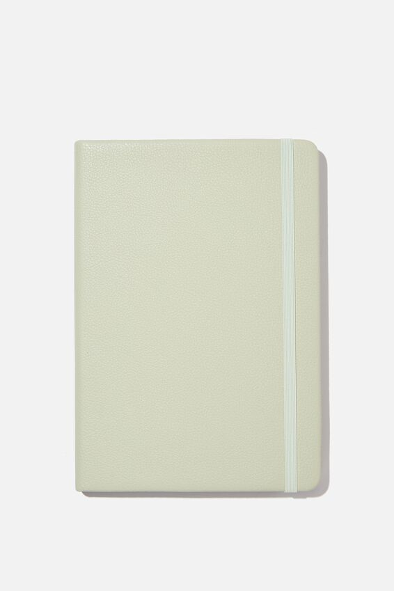 "A5 Buffalo Journal (5.8"" x 8.2""), WASHED SAGE"