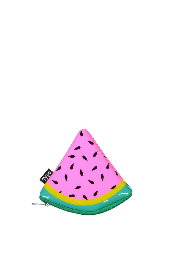 Cashed Up Coin Purse, WATERMELON SLICE