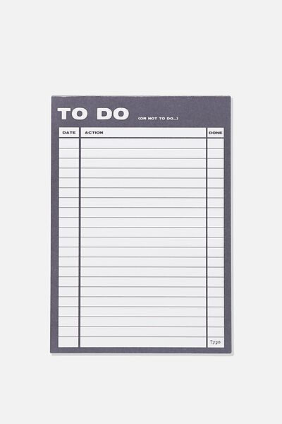 A5 Plan Ahead Planner, NAVY TO DO