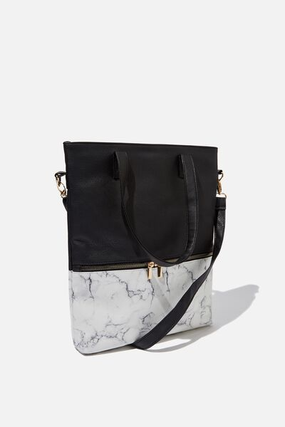 Laptop Tote Bag 13 inch, MARBLE