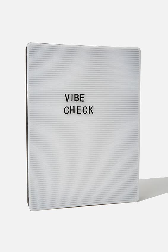 Large Pegboard Light Box, BLACK & WHITE