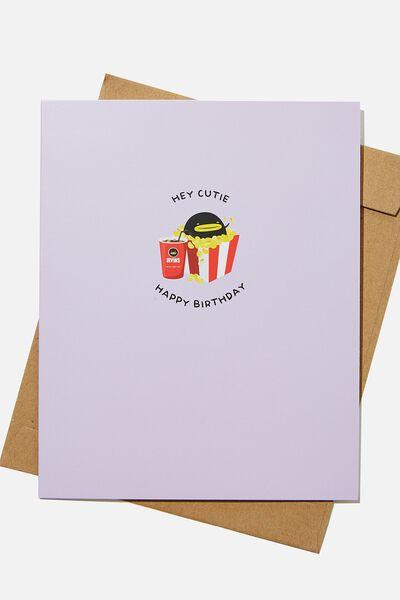 Nice Birthday Card, LCN IRV IRVINS HEY CUTIE