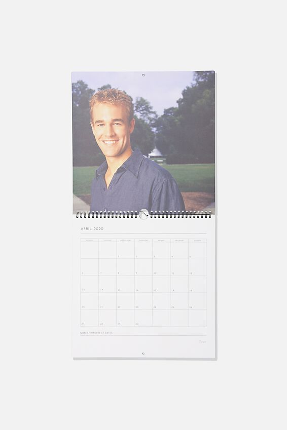 Dawsons Creek 2020 TV Show Calendar, LCN SO DAW DAWSONS CREEK
