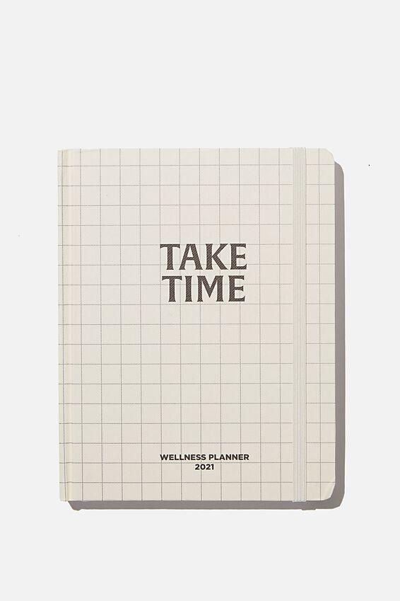2021 Wellness Planner, GRID TAKE TIME