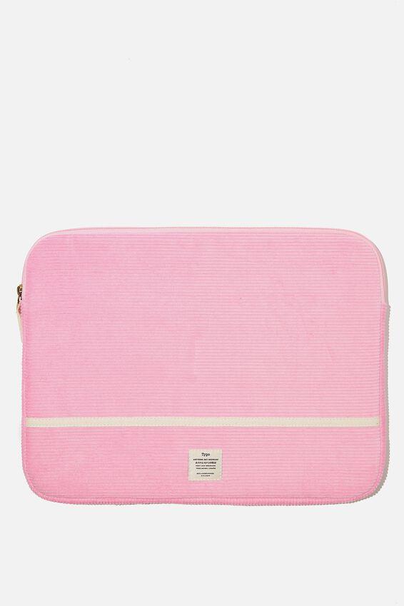 Take Me Away 15 Inch Laptop Case, RG PLASTIC PINK
