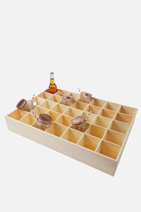Party Crate Extra Large, NATURAL