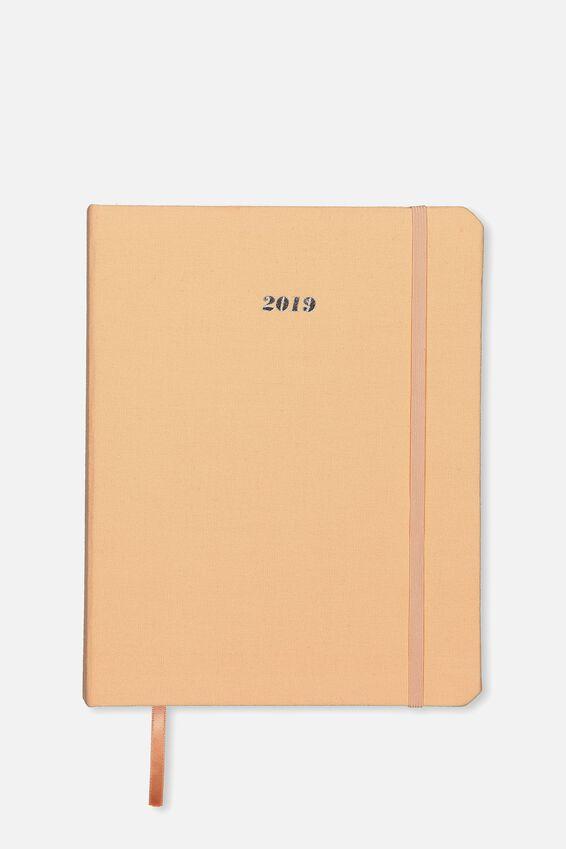 2019 Organisational Planner, PEACH