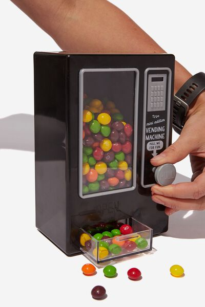 Mini Vending Machine, BLACK
