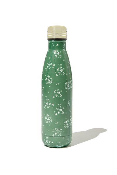 Metal Drink Bottle, BASIL DITSY