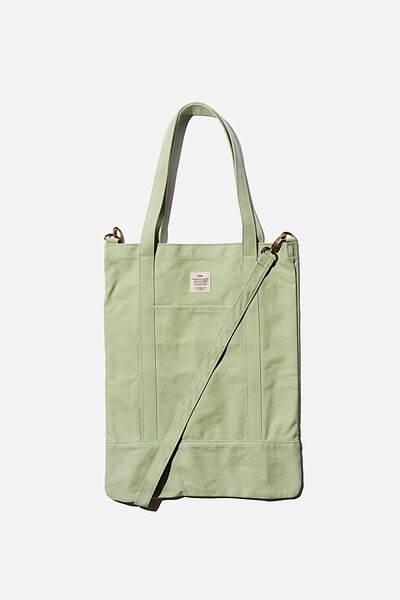 Book Tote Bag, ALLY GREEN