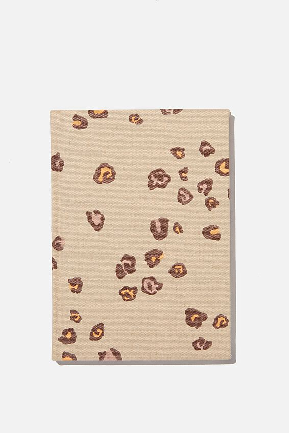 2021 A5 Oxford Weekly Diary, NATURAL LEOPARD
