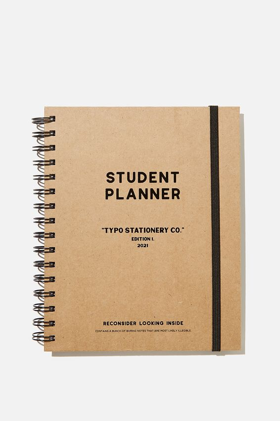 Student Planner 2021, CRAFT