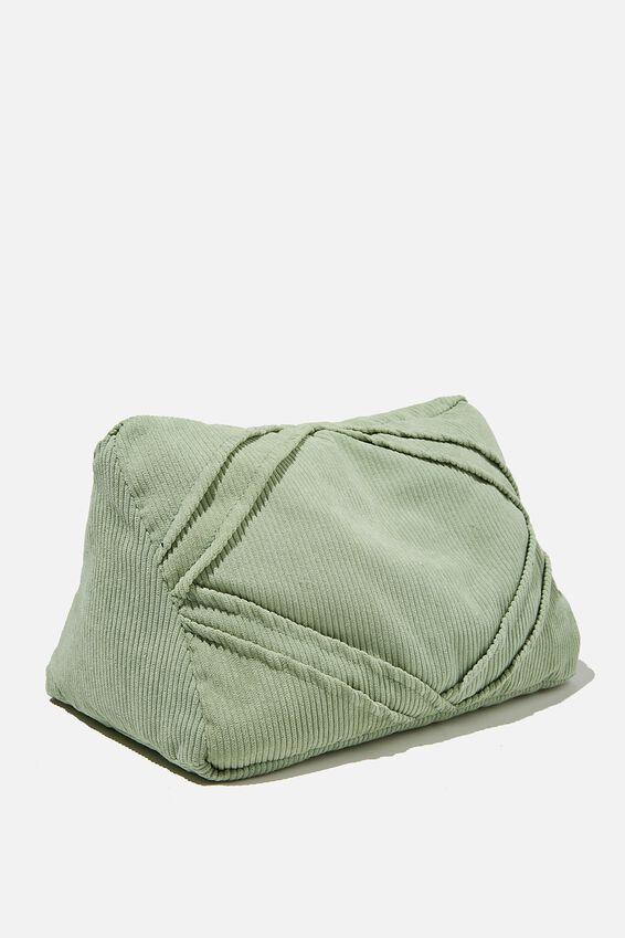 Tablet Cushion, GUM LEAF CORD