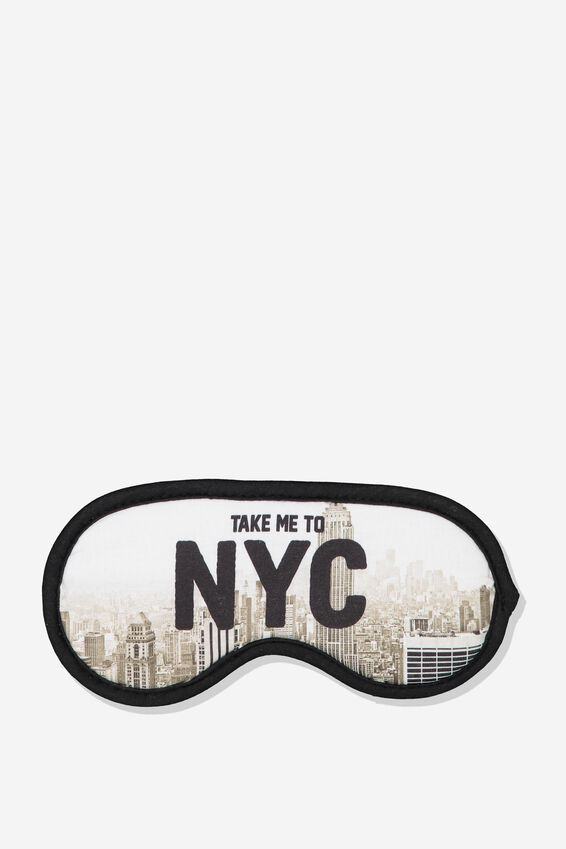 Premium Sleep Eye Mask, NYC VIEWS