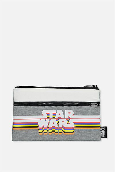Archer Pencil Case, LCN STAR WARS LOGO