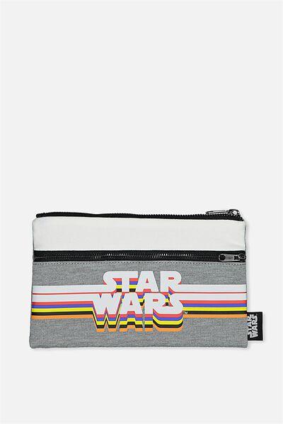 Archer Pencil Case, LCN STAR WARS LOGO
