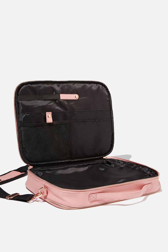 Mobile Laptop Folio 15 Inch, DUSTY PINK PERF