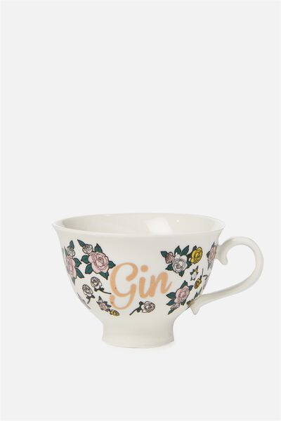 Message In A Tea Cup, GIN!