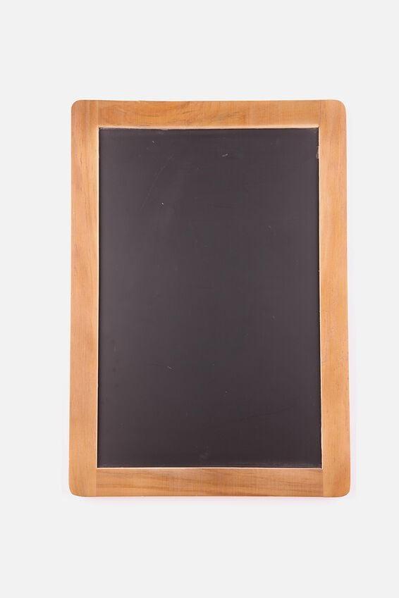 A3 Chalkboard, BROWN