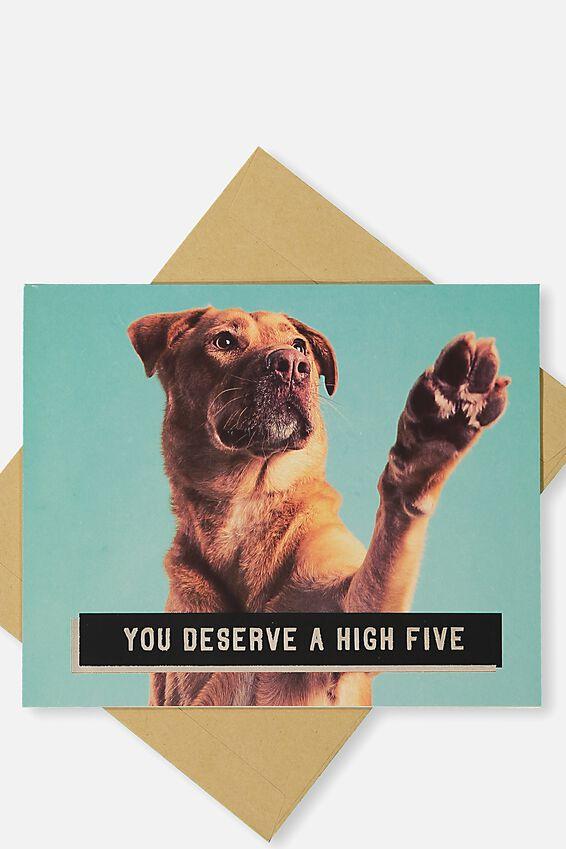 Congratulations Card, HIGH FIVE