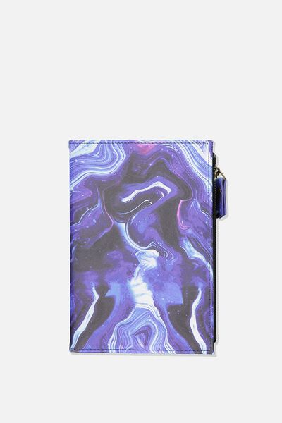 Travel Zip Journal, MOON MARBLE