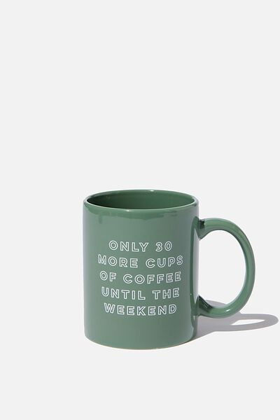 Anytime Mug, 30 MORE CUPS