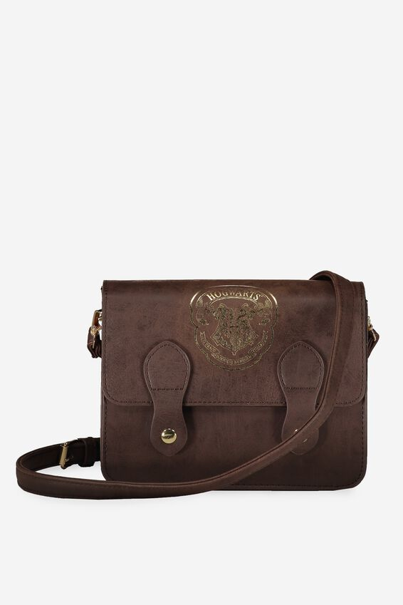 Harry Potter Mini Buffalo Satchel Bag, LCN HP HOGWARTS