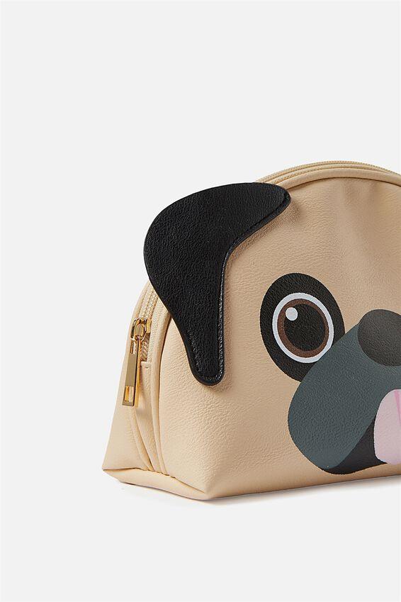 Cosmetic Bag, PUG