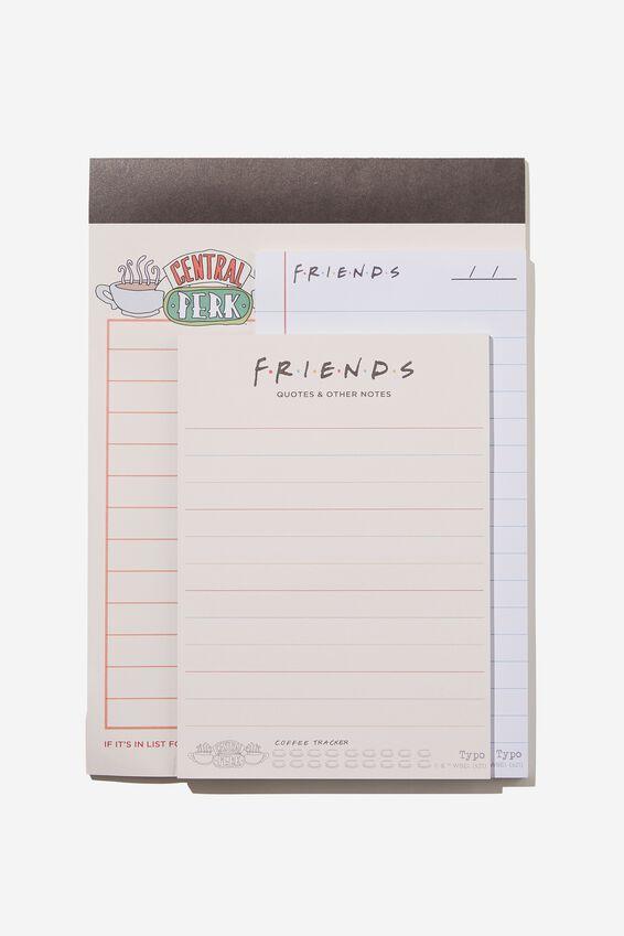Friends Make A List 3Pk, LCN WB FRIENDS ORDER
