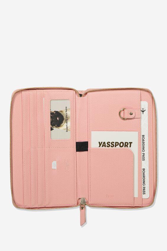 Rfid Odyssey Travel Compendium Wallet, SUNSET SPECKLE
