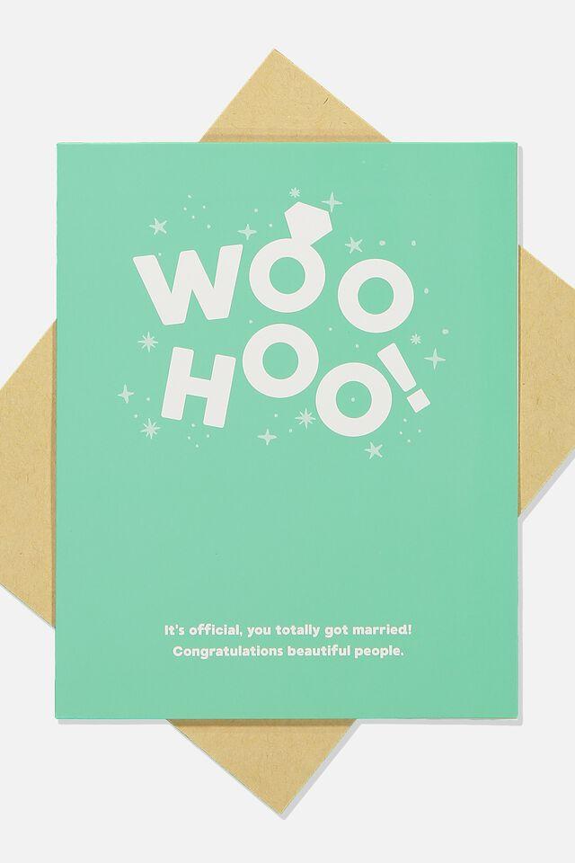 Wedding Card, WOOHOO WEDDING