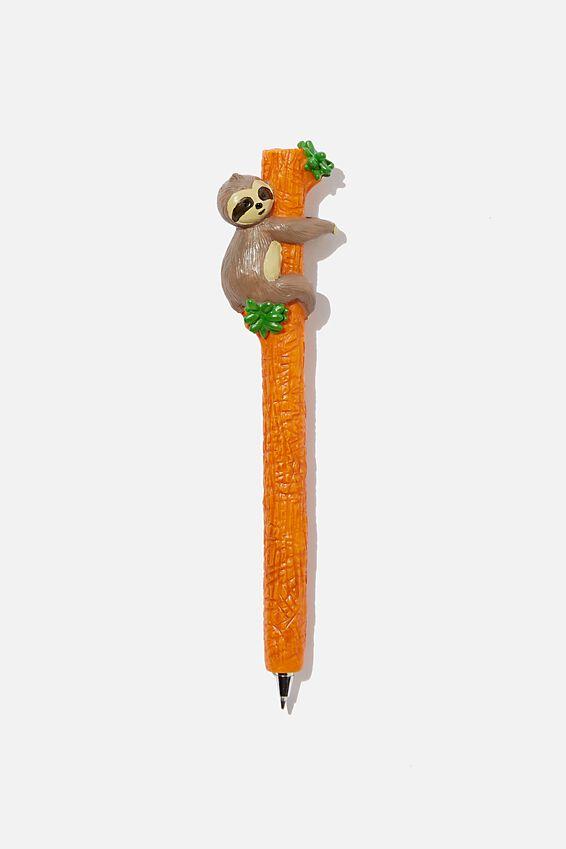 Novelty Pen, SLOTHY CLIMBING