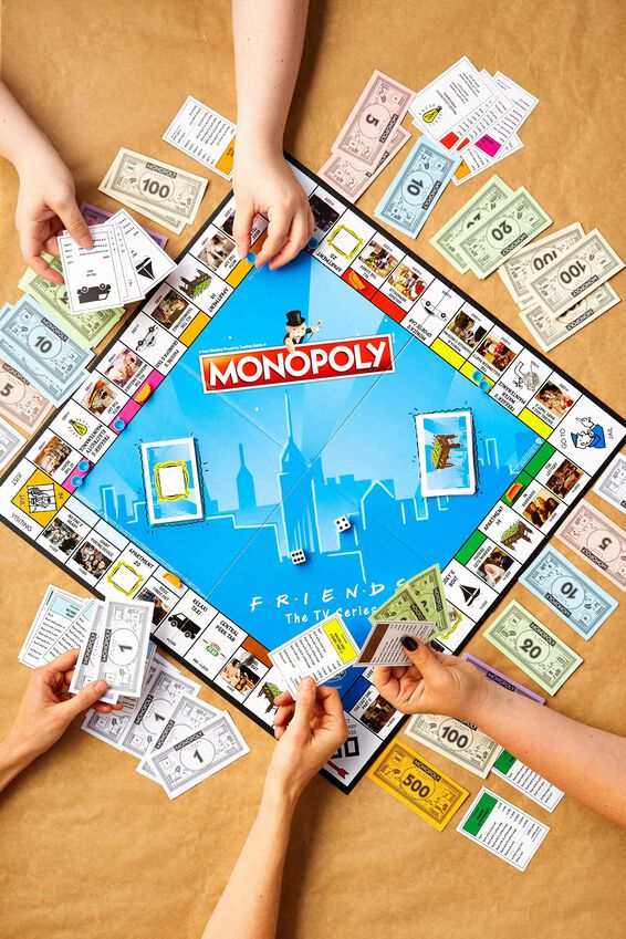 Friends Monopoly Board Game, FRIENDS